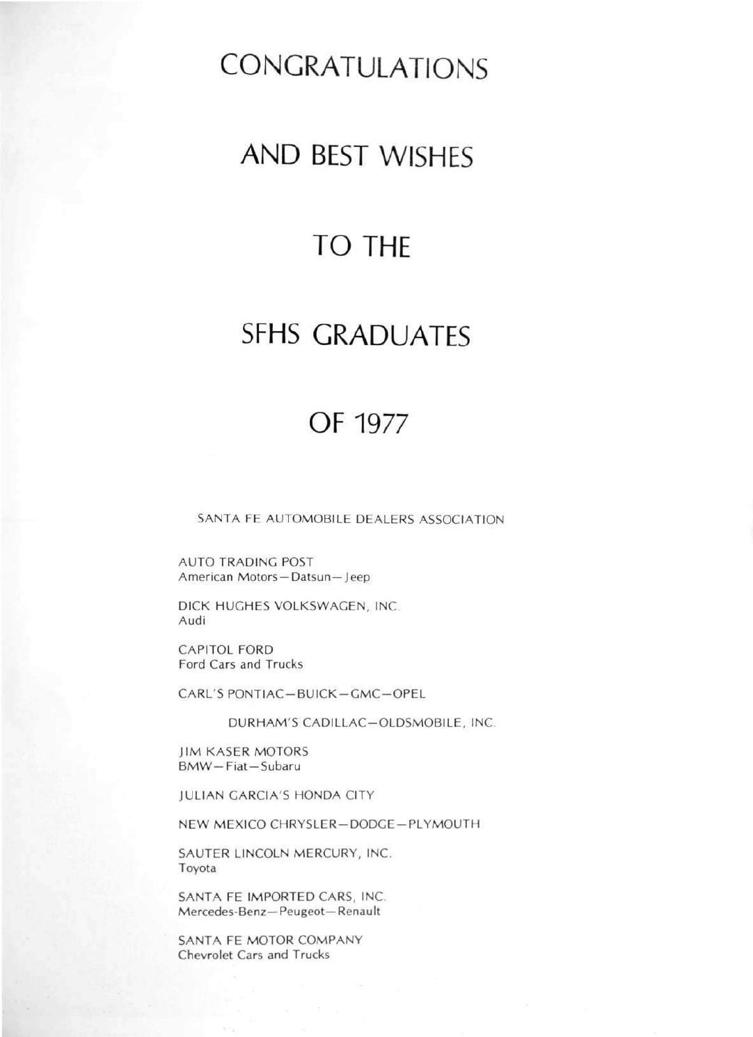 Santa Fe High School Yearbook 1977 By Santa Fe High School