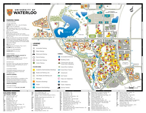Uw Campus Map By Paul Mallet Issuu
