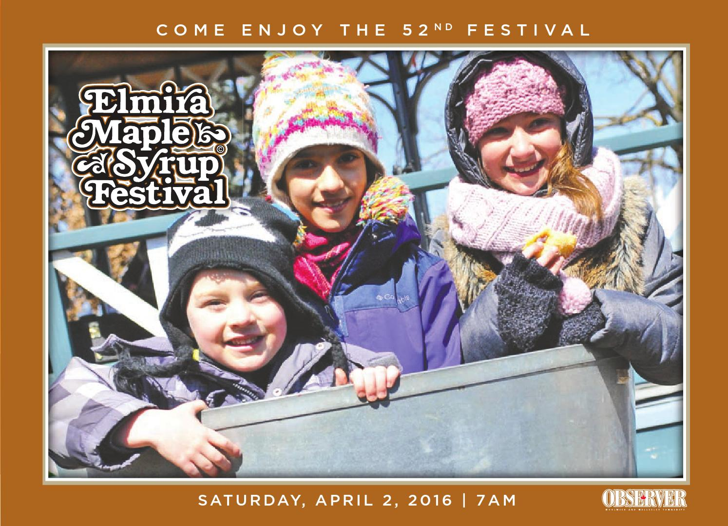 9af57822a2f Elmira maple syrup festival guide 2016 by Woolwich Observer - issuu