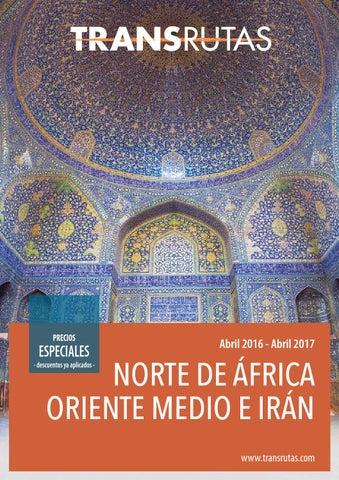 Transrutas norte africa oriente medio e iran 2017