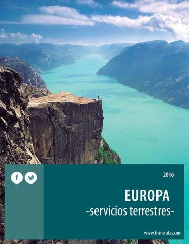 Transrutas europa servicios terrestres