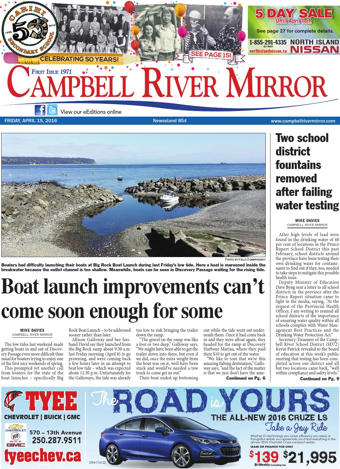 Campbell River Mirror, April 15, 2016 by Black Press - issuu