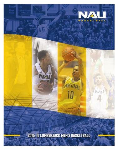 2015-16 Northern Arizona Men's Basketball Guide by NAU ...