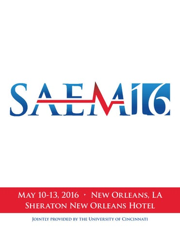 Saem16 Program Book By Society For Academic Emergency Medicine Issuu
