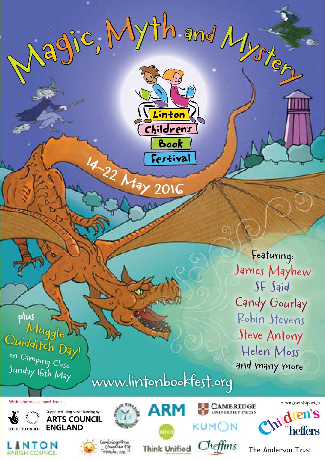 Linton Children\'s Book Festival 2016 programme by Simon Lee - issuu