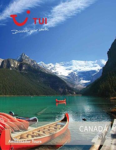 Catálogos Royal Vacaciones Ambassador tours canadá