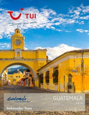 Catálogos Royal Vacaciones Ambassador tours guatemala 2016
