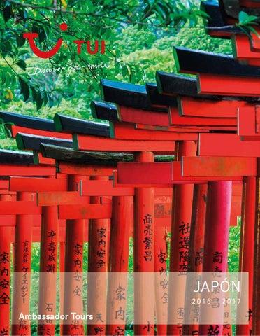 Catálogos Royal Vacaciones Ambassador tours japón 2016 2017