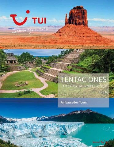 Catálogos Royal Vacaciones Ambassador tours tentaciones america de norte a sur