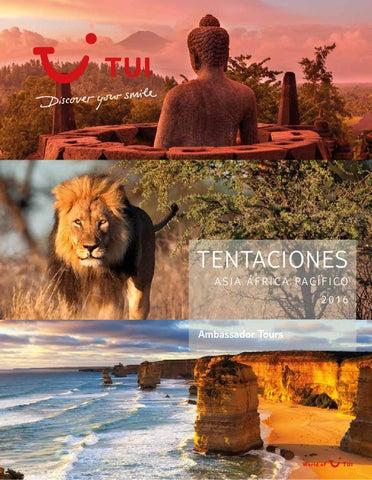 Catálogos Royal Vacaciones Ambassador tours tentaciones asia africa pacifico