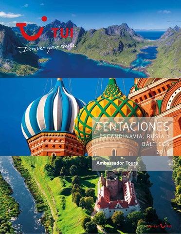 Catálogos Royal Vacaciones Tui tentaciones escandinavia rusia y bálticos