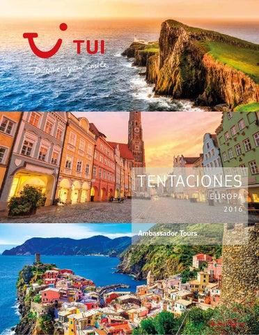 Catálogos Royal Vacaciones Tui tentaciones europa
