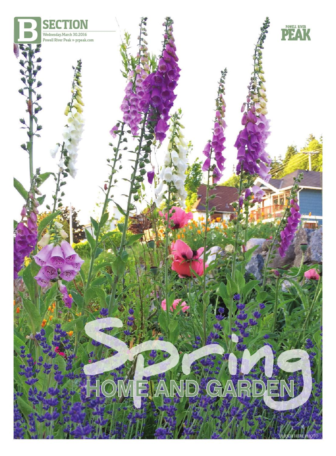 Spring Home and Garden 2016 by Powell River Peak - issuu