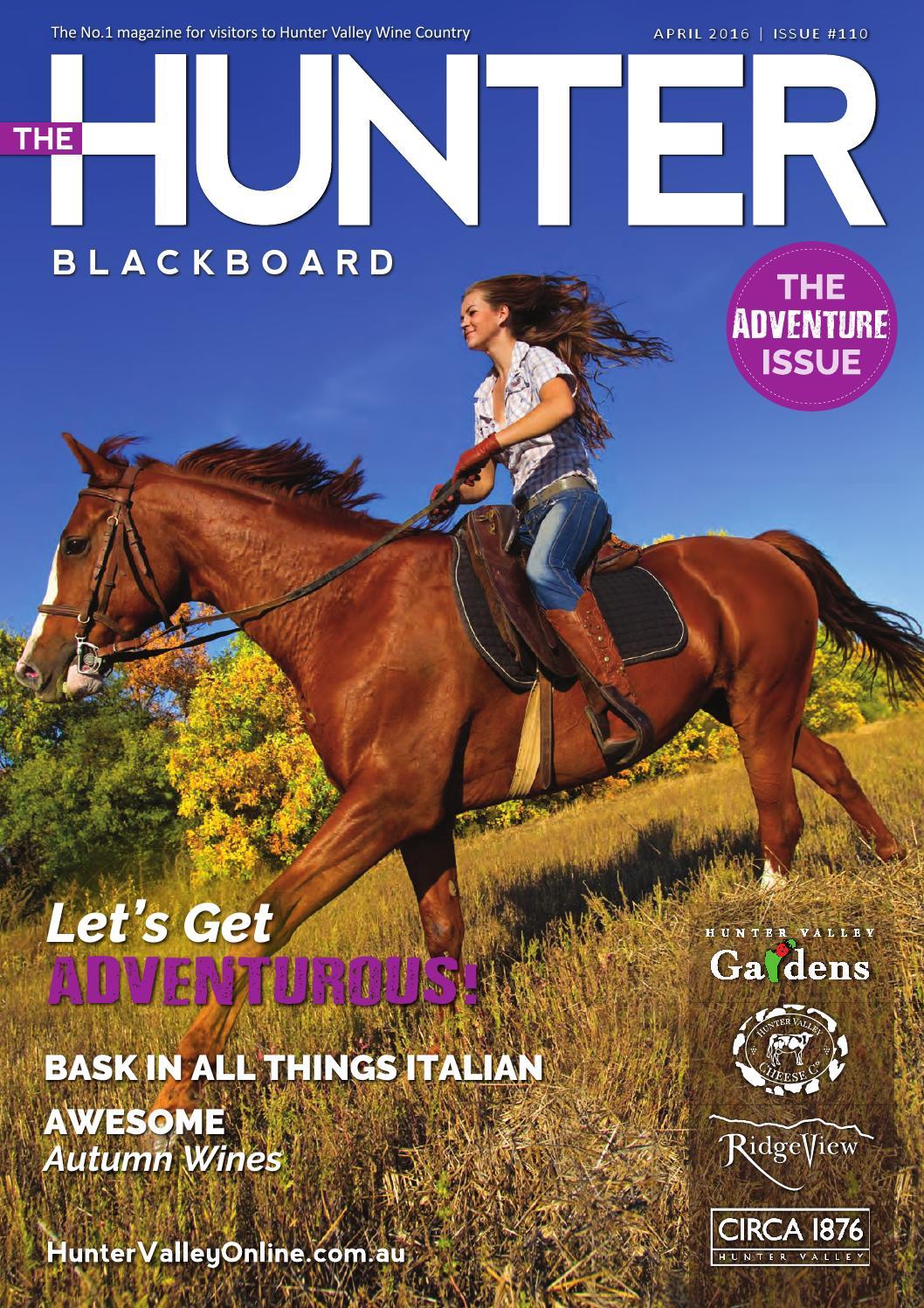 The Hunter Blackboard | April 2016 by WCP MEDIA | HUNTER VALLEY - issuu