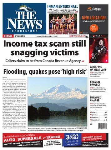 uk availability 67a2a 5c20a Abbotsford News, April 08, 2016 by Black Press Media Group - issuu