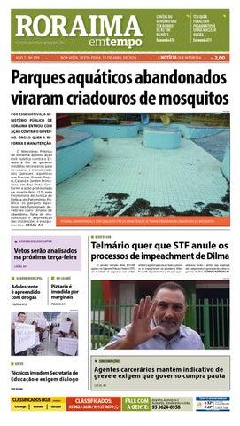 a2cf4f63f0 Jornal roraima em tempo – edição 309 – período de visualização ...