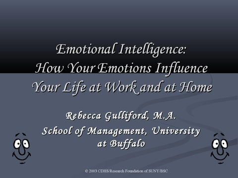 Emotional intelligence presentation ppt 1