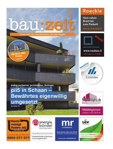 bau:zeit Ausgabe 44 by Medienbüro Oehri & Kaiser AG - issuu