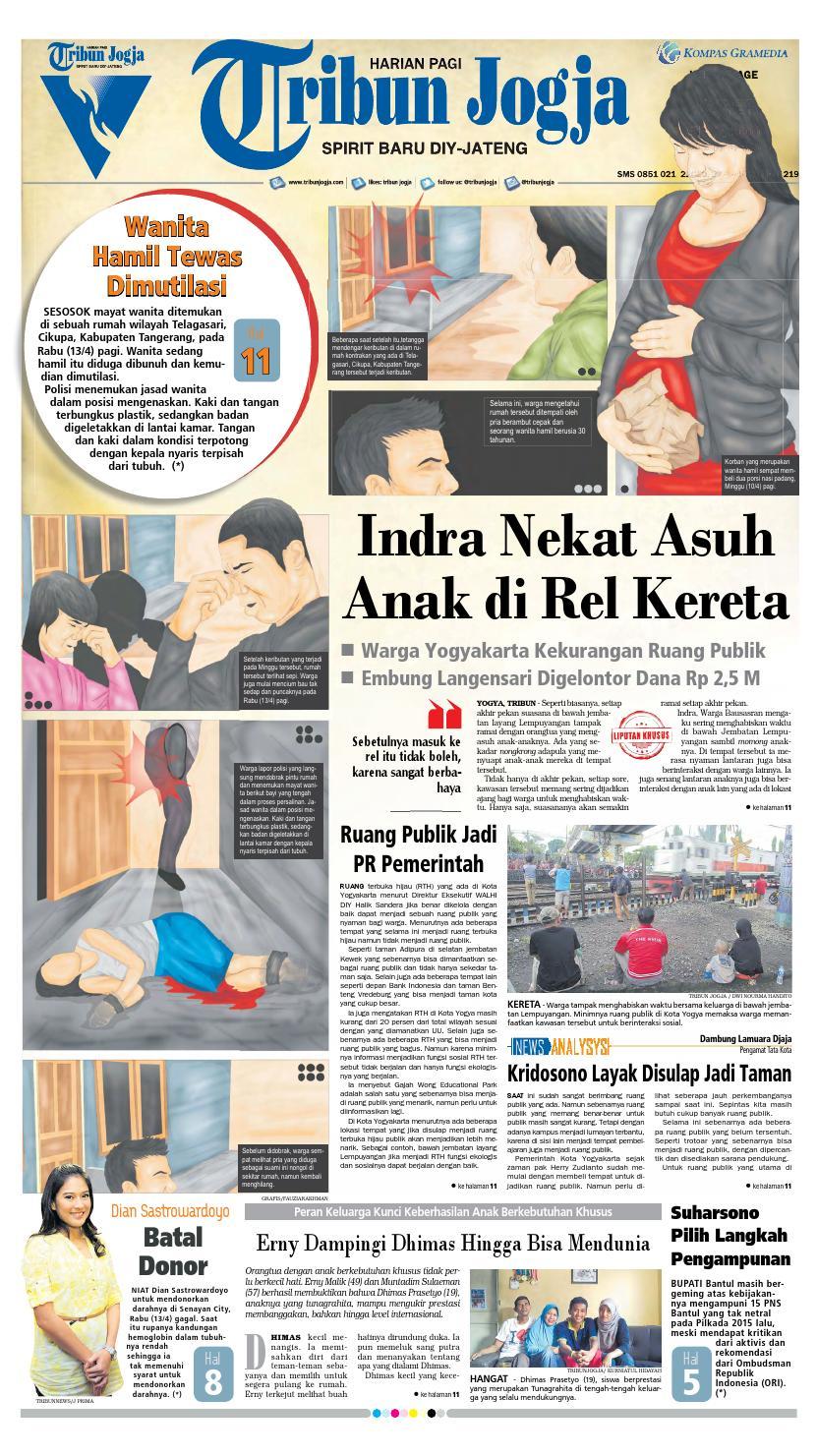 Tribunjogja 14 04 2016 By Tribun Jogja Issuu Produk Ukm Bumn Jamu Kunyit Asam Seger Waras