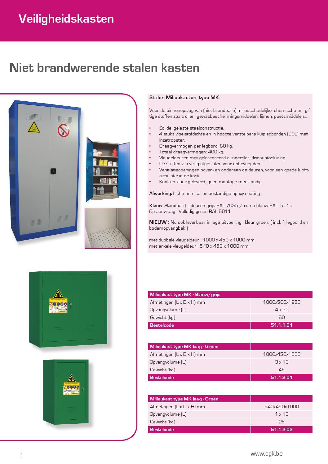 Veiligheidskasten En Zuurkasten By Cgk Group Issuu