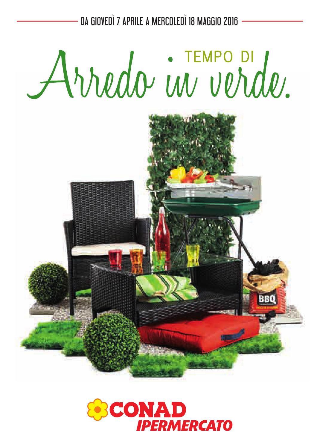 Volantino offerte conad arredo giardino dal 7 aprile al 18 for Offerte arredo giardino