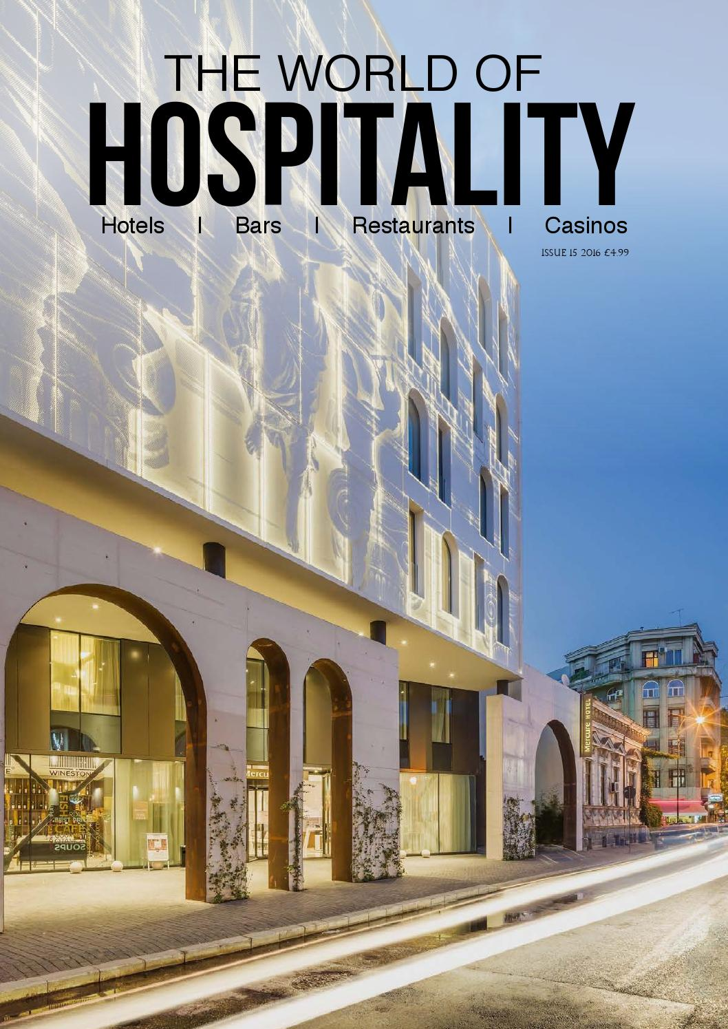 The World Of Hospitality Issue 15 2016 By Residential Electrical Wiring Diagrams Price Usd 1000 Minorder 500 Issuu