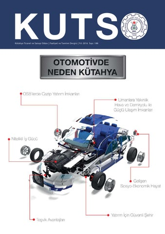 Kutso Dergi Sayi 188 By Kutahya Ticaret Ve Sanayi Odasi Issuu