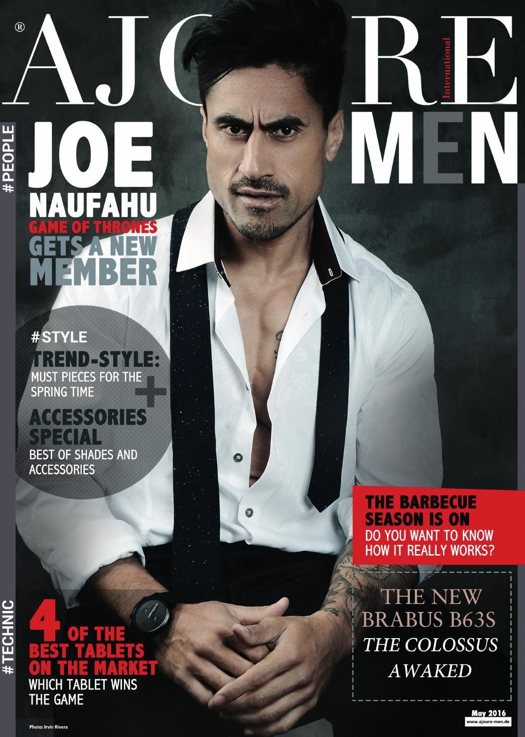 Ajoure MEN Magazine