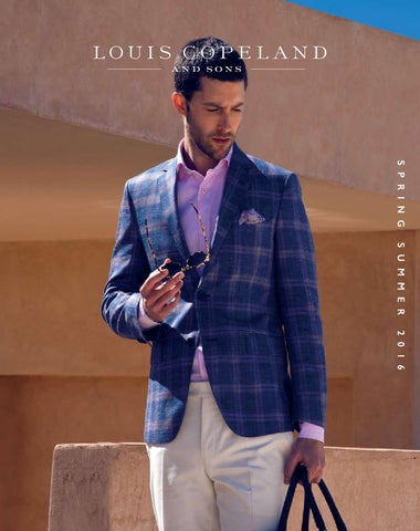 hot-selling professional hot-selling official genuine Louis Copeland SS16 Brochure by LouisCopeland.com - issuu