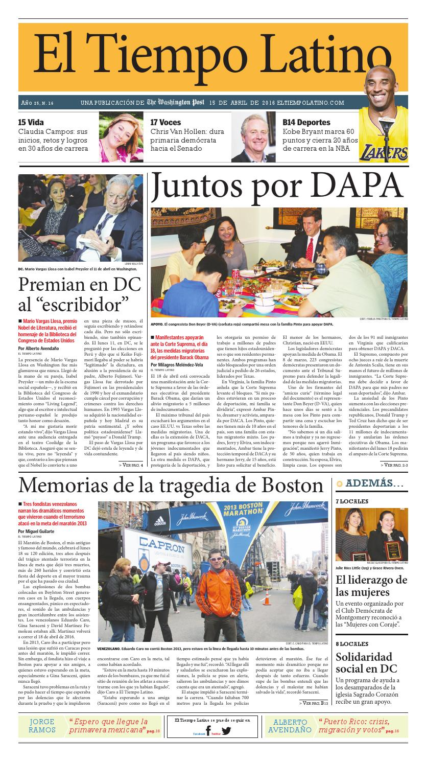 more photos 2080a d0ac5 ETL 4-15-16 by El Tiempo Latino  TWP - issuu