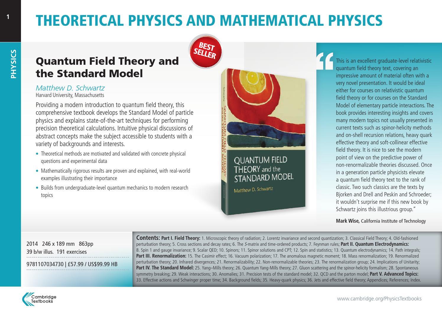 Physics Textbooks from Cambridge by Cambridge University Press - issuu