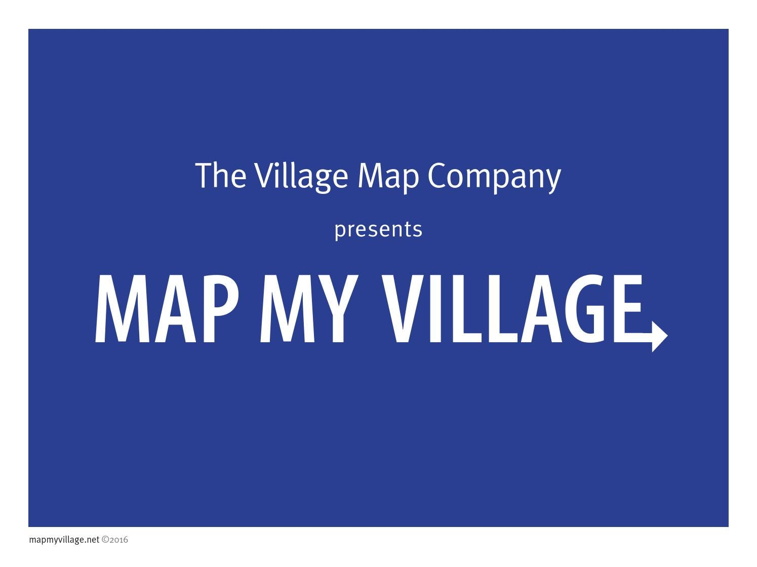 The Village Map Company presents    by The Village Map Co - issuu