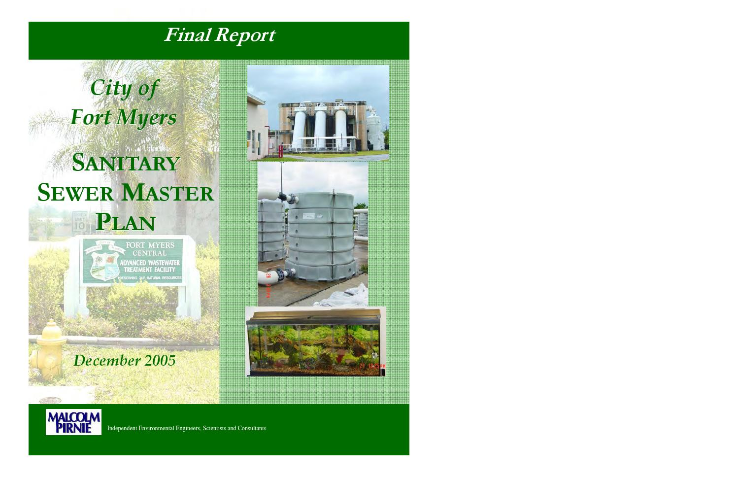 Fort Myers Sewer Master Plan by Fort Myers Florida - issuu 66d5a99514