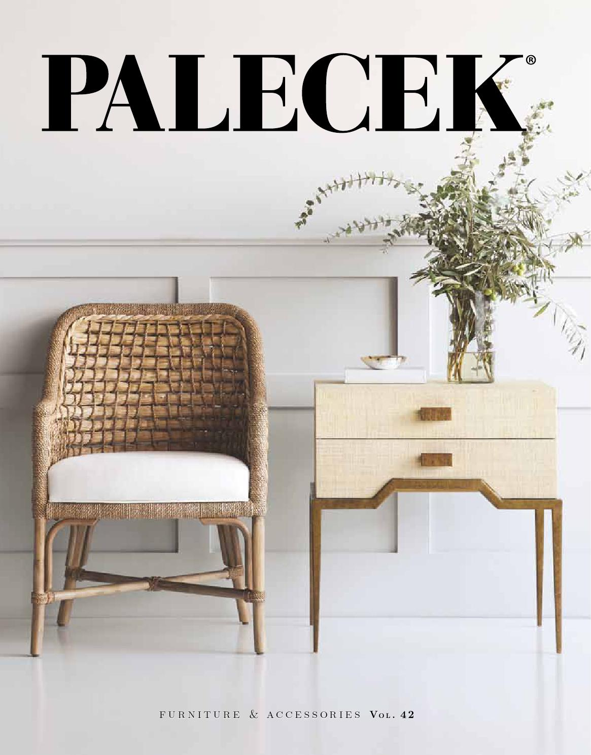 PALECEKu0027s 2016 Furniture u0026 Accessories Catalog Vol. 42 by palecekdesign - issuu : palecek wicker chair - Cheerinfomania.Com