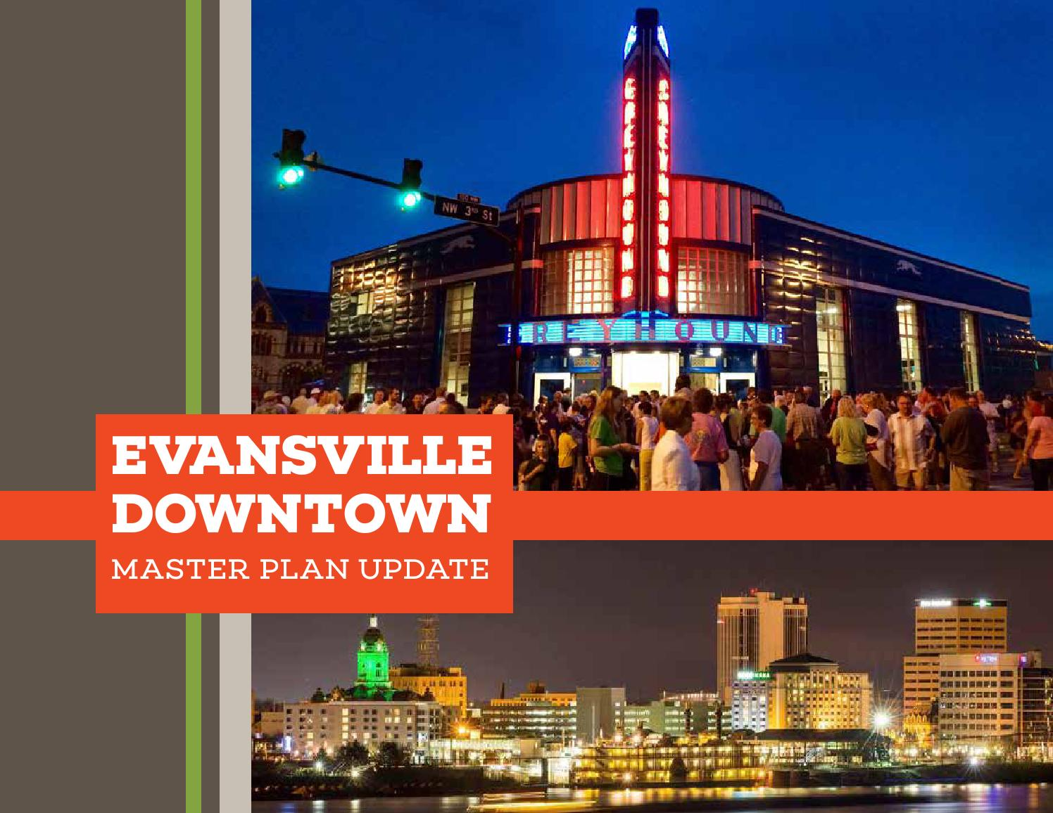 Evansville Downtown Master Plan By