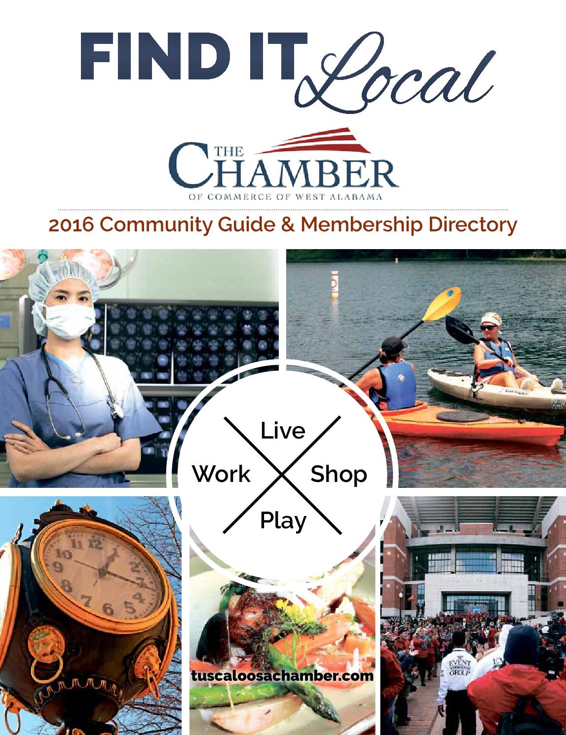 2016 tuscaloosa community guide membership directory by amy materson issuu