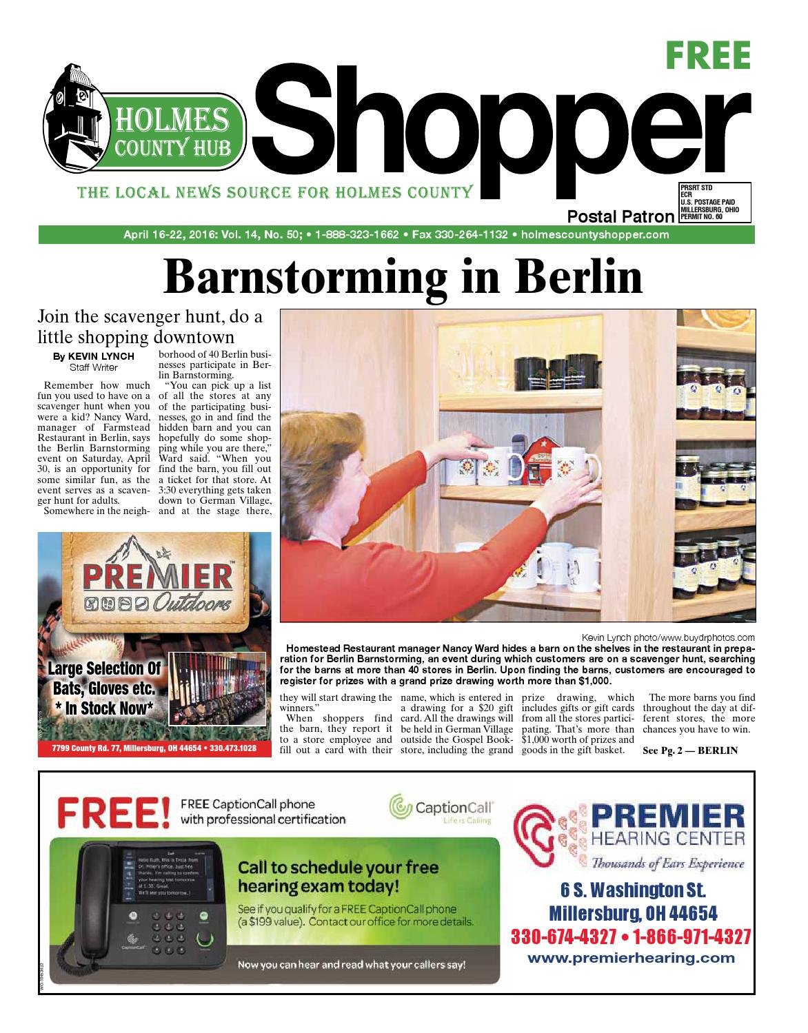 Holmes County Hub Shopper April 16 2016 By Gannett NEO Issuu