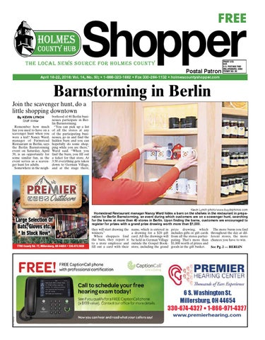 page_1_thumb_large holmes county hub shopper, april 16, 2016 by gatehouse media neo issuu
