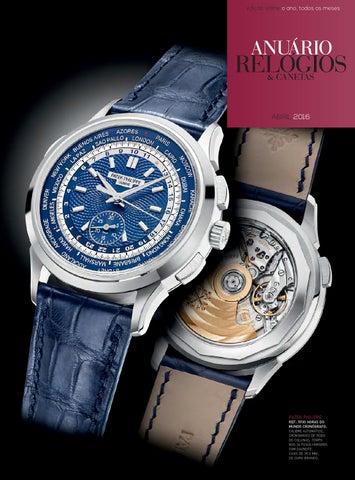a659a8703f0 Anuário Relógios   Canetas - Abril 2016 by Anuário Relógios ...
