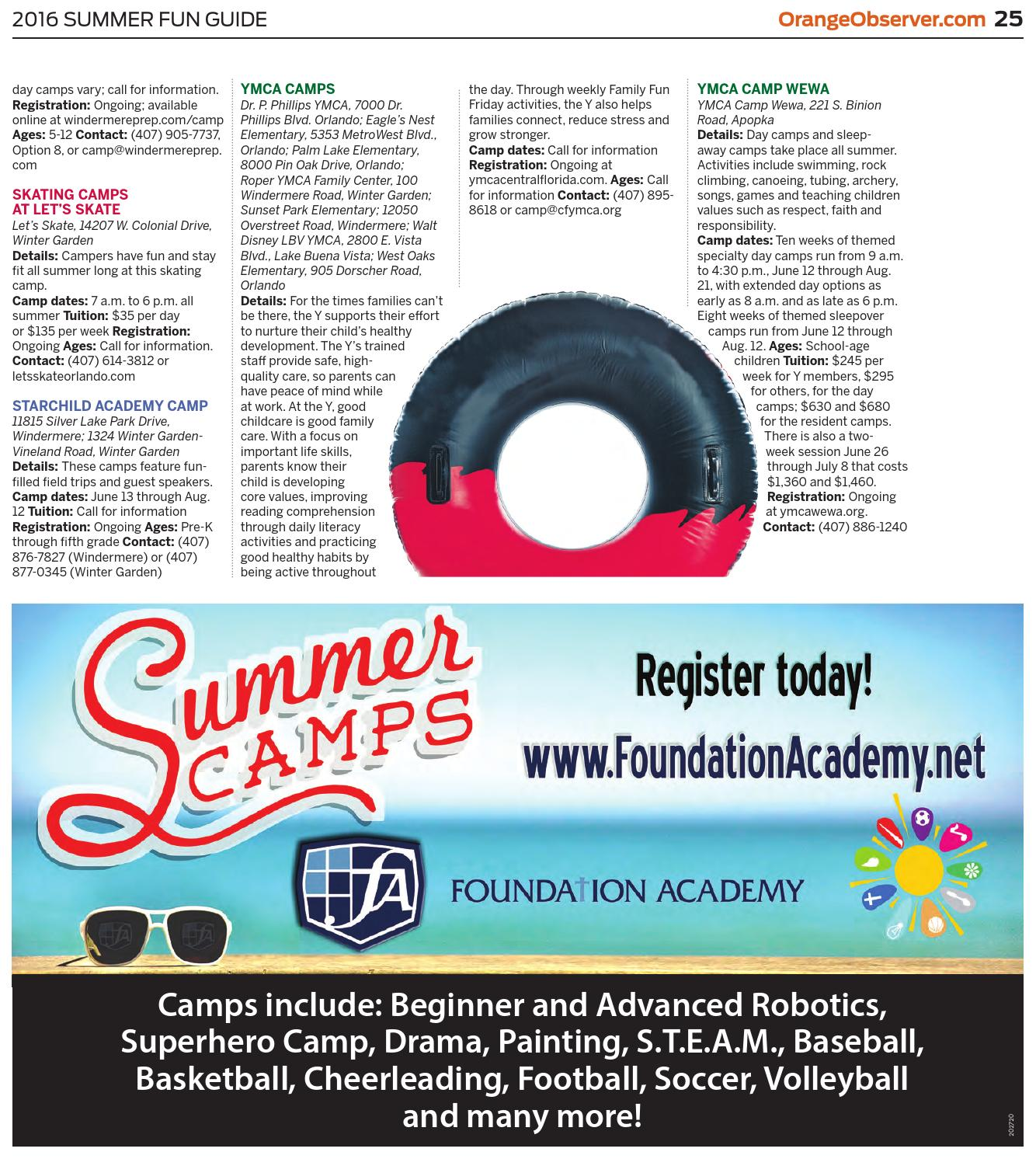 04 14 16 summer fun guide 2016 by orange observer issuu