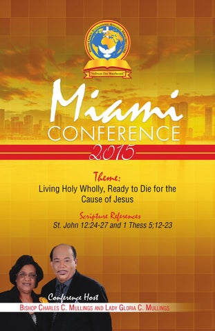United Church I AM - Miami Conference 2015 by Gracious Grafx