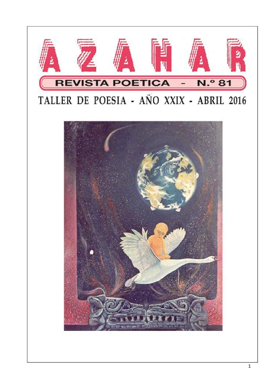 Revista Azahar N° 81 by La Tinta Invisible Editores - issuu