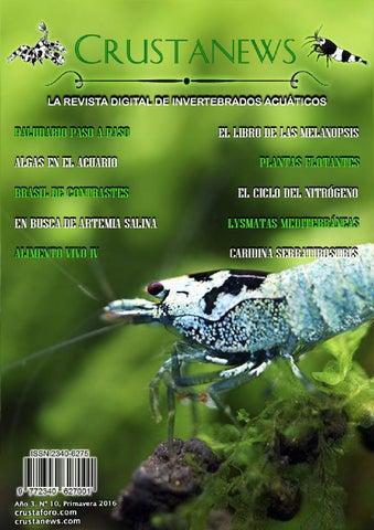 Caridina cantonensis reproduccion asexual de las plantas