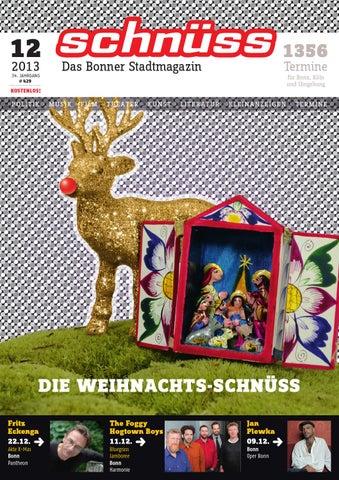 Schnüss 2013/12 by Schnüss - Das Bonner Stadtmagazin - issuu