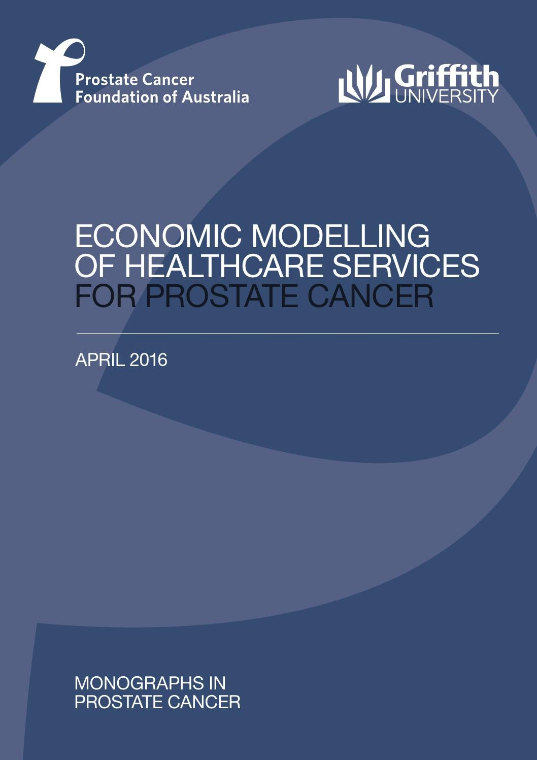 Economic Modelling Of Healthcare Services For Prostate Cancer By