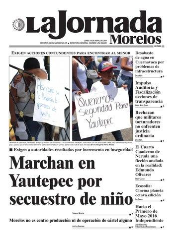 La Jornada Morelos Abril 18 By Gerardo Barreto Issuu