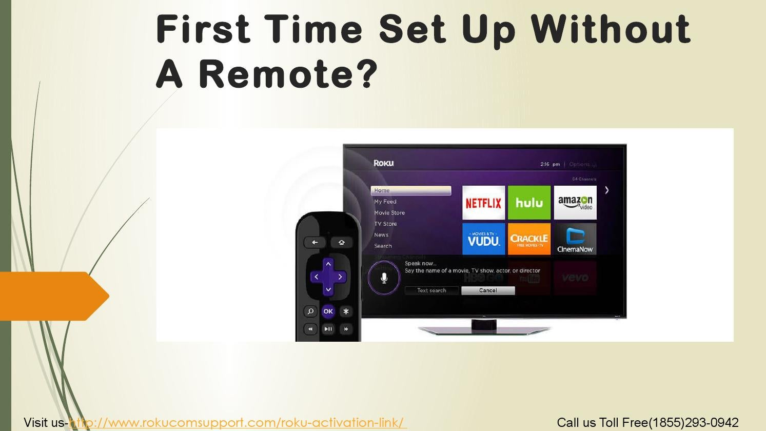 First Time Set Up Without A Remote? by Rokucom Support - issuu
