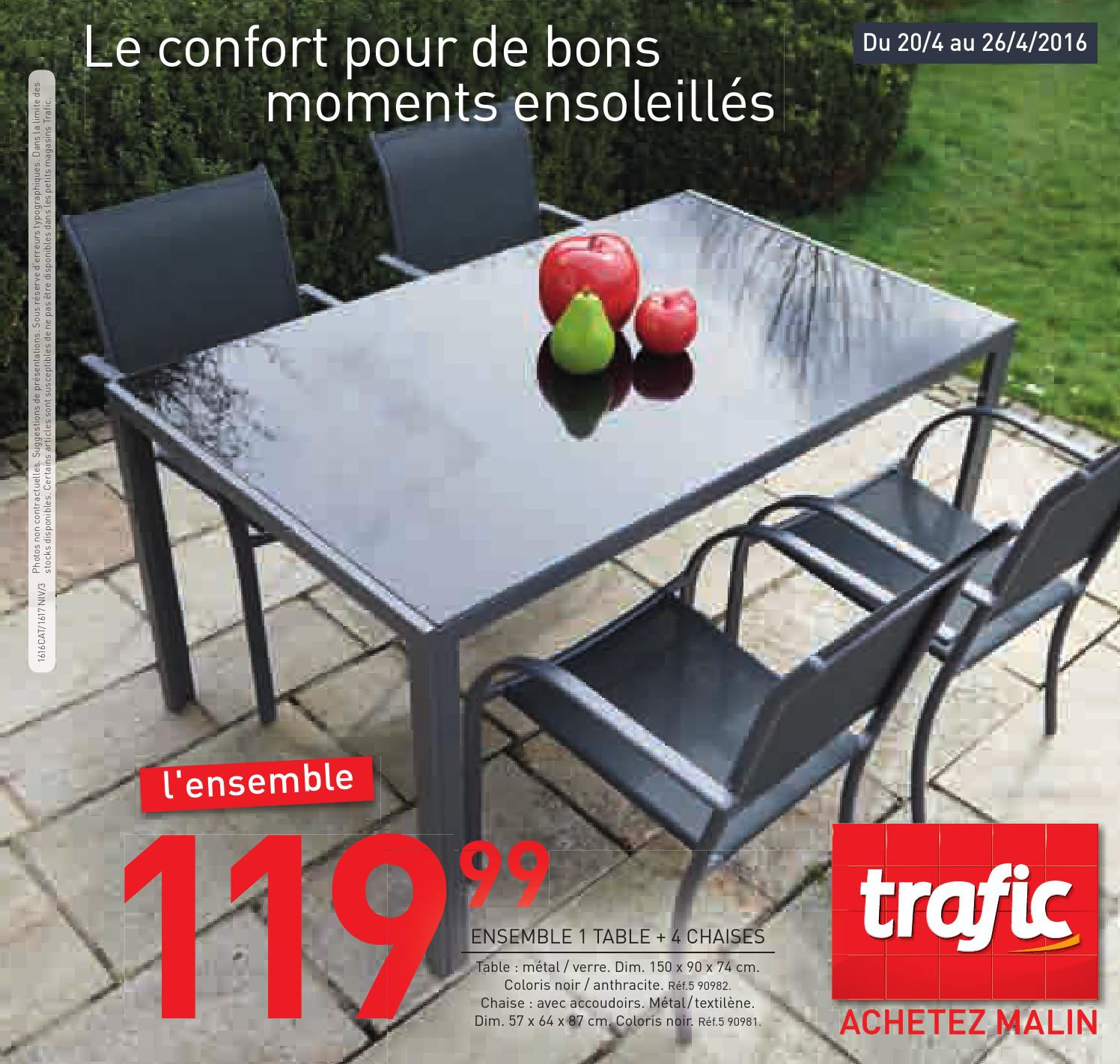 Awesome Table De Jardin Plastique Trafic Images - House Design ...