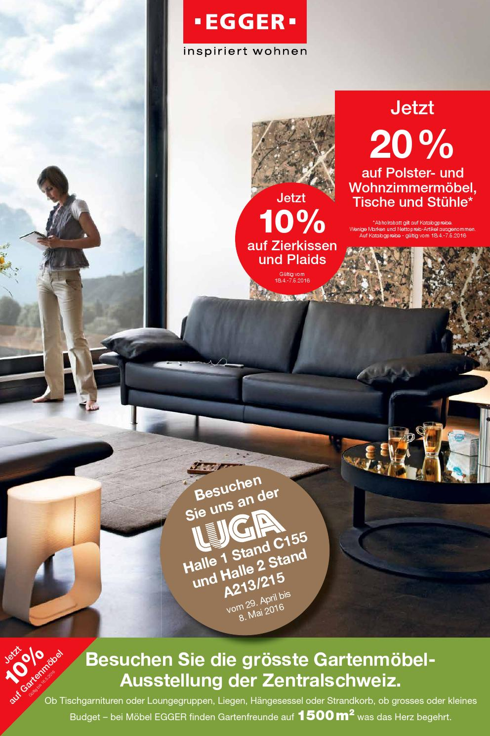 2016 prospekt polster wohnen essen by m bel egger issuu. Black Bedroom Furniture Sets. Home Design Ideas