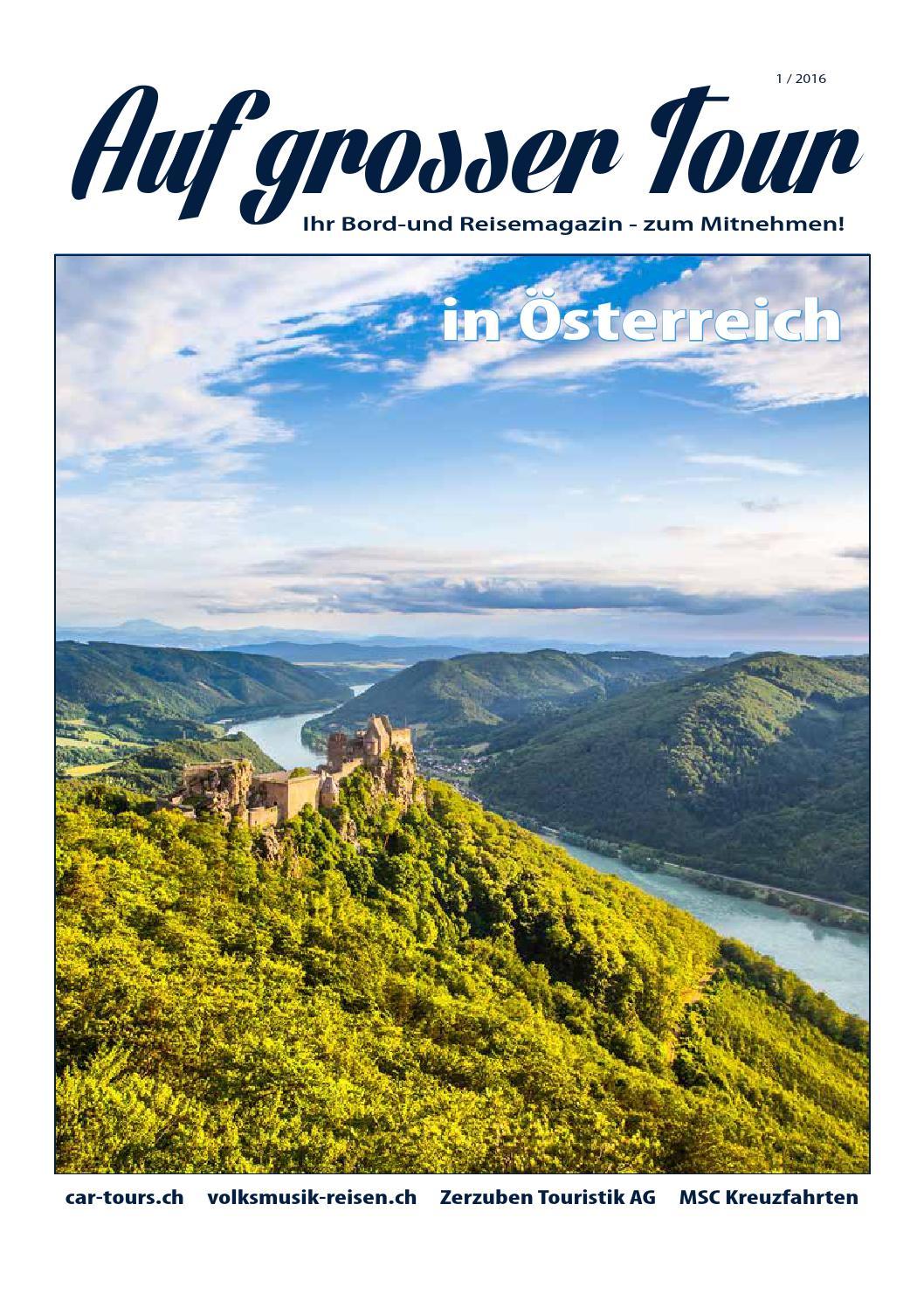 Bord  Und Reisemagazin 1/2016 By Zerzuben Touristik AG   Issuu